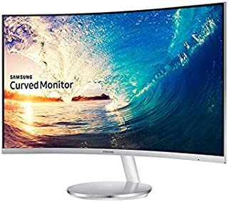 Samsung 27 Inch Curved LED Monitor, Silver, LC27F591FD