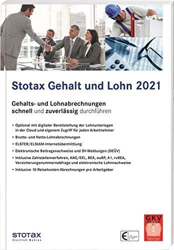 Stotax Gehalt und Lohn 2021