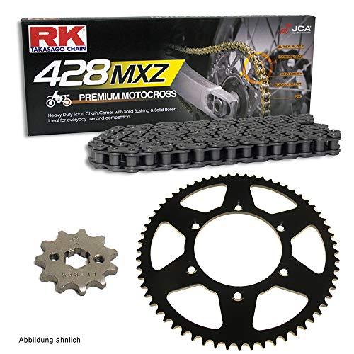 Kettensatz geeignet für Yamaha YZF R125 19-20 Kette RK 428 MXZ 130 offen 14/52