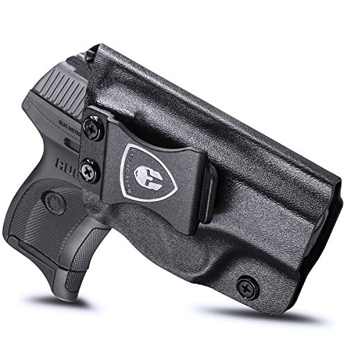 Ruger LC9 Holster, IWB KYDEX Holster Fit: Ruger LC9 / Ruger LC9S / Ruger LC380 / Ruger EC9S Pistols, Inside Waistband Holster Concealed Carry for Men / Women, Adjustable Cant & Retention, Right Hand