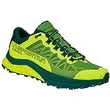 LA SPORTIVA Karacal, Zapatillas de Trail Running Hombre, Neon/Jungle, 40.5 EU