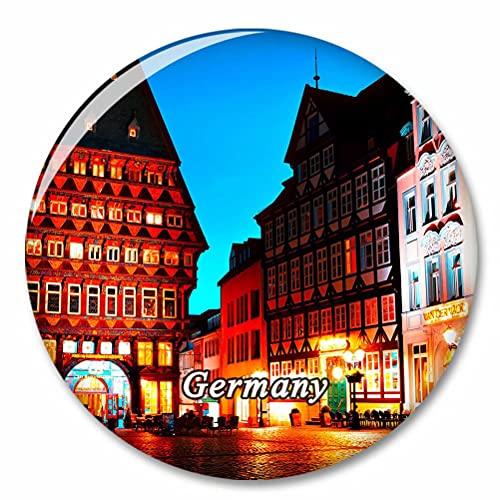 Deutschland Hildesheim Straße Kühlschrank Magnete Dekorative Magnet Flaschenöffner Tourist City Travel Souvenir Collection Geschenk Starker Kühlschrank Aufkleber