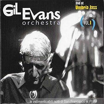 Gil Evans Orchestra (Live at Umbria Jazz), Vol. I