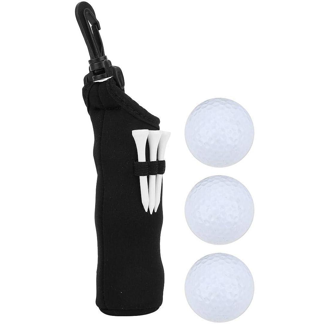適度にプログラム転倒ゴルフボール収納袋 ミニゴルフボール収納袋 ゴルフファン用 耐久 小ウエストバッグポケット用品