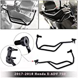 FATExpress Manillar de Acero para Motocicleta Manillar Protector de Mano Protector de Choque para 2017 2018 Ho-nda X-ADV X ADV Xadv 750 Accesorios de Motocicleta 17-18