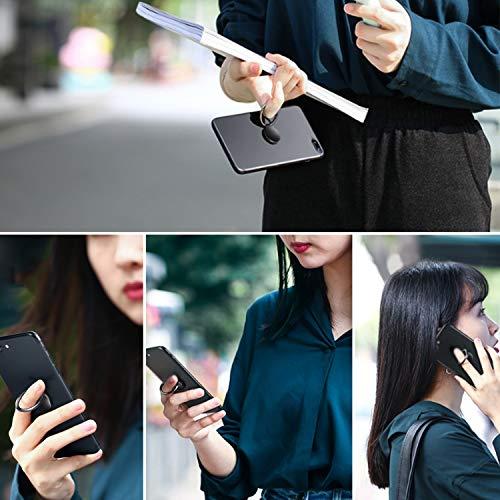 Anneau Support Téléphone,Support Téléphone,Anneau Support Téléphone avec Rotation à 360 Degrés [2 Pack] Bague Support Téléphone pour iPhone,IPad,Samsung,LG,Huawei,XiaoMi,Sony,Tous Les téléphones