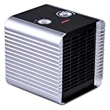 Givebest Ceramic Space Heater, 750W/1500W ETL Listed Electric Heater with Adjustable Thermostat, Overheats and Tip-Over Protection for Office Home