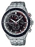 Casio Reloj Cronógrafo para Hombre de Cuarzo con Correa en Acero Inoxidable EFR-561DB-1BVUEF