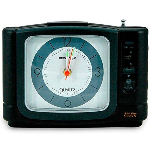 BRIGMTON BRD-605 - Radio Despertador analógico Am/FM con repetición