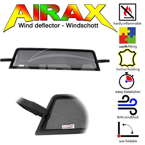 Airax Windschott für MX-5 MX5 MK4 ND Windabweiser Windscherm Windstop Wind deflector déflecteur de vent