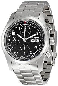 Hamilton Men's H71516137 Khaki Field Black Dial Watch
