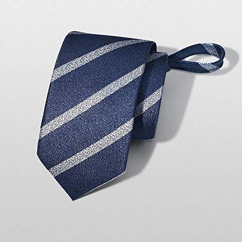 HXF- Camicia Tie Formale Abbigliamento Maschile Legame degli Uomini di Affari Pigro Zipper Coreana Sposo Matrimonio Vino degli Uomini Rossi Signore (Color : C)