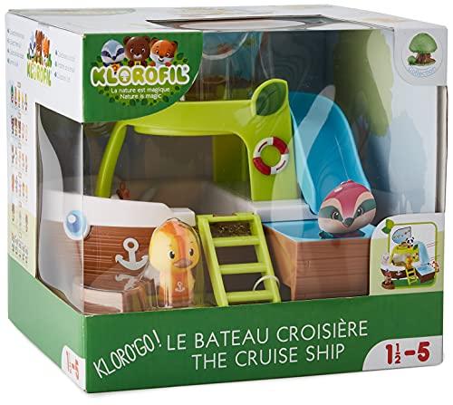 Klorofil 700209 - Bateau Croisière - Enfant - Multicolore - de 18 mois à 5 ans