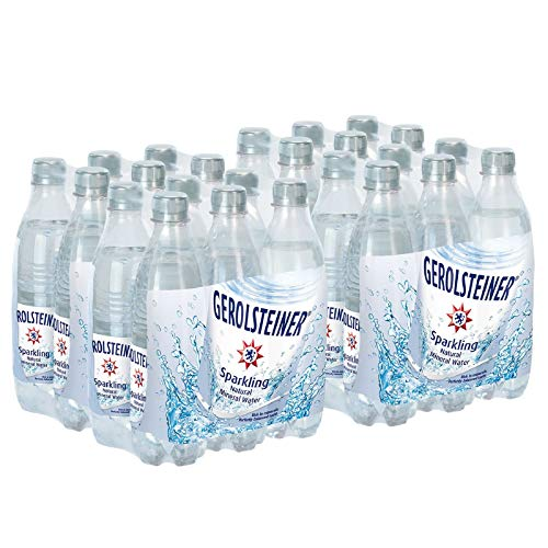 Gerolsteiner Naturally Sparkling Mineral Water, 16.9 Fl Oz (Pack of 24)