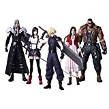 Square Enix Pack 5 Figuras 10 cm Final Fantasy VII Remake Trading Arts