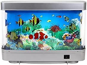 Lightahead Artificial Tropical Fish Aquarium Decorative Lamp Virtual Ocean in Motion (Marine Life A)