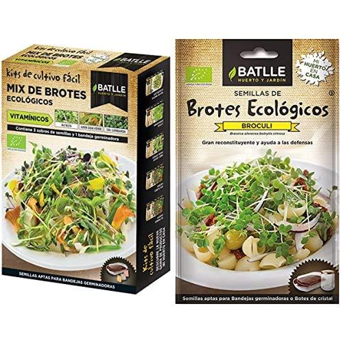 Semillas Batlle Ecológicas Bortes - Brotes Mix Eco Vitamín