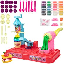 UNIH Playdough Sets for Toddlers with Tools