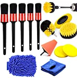 Best Detailing Kits - Auto Car Boars Hair Detailing Brushes and Drill Review