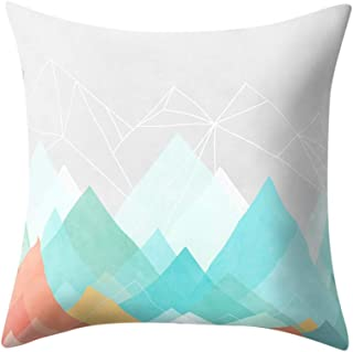 Cushion cover Yesmile cushion cover geometry design cushion cover home decor cushion cover sofa cushion cover pillow case throw cushion sofa bedroom cushion cover decorative