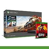 Xbox One X 1TB + Forza Horizon 4 + 14gg Xbox Live Gold + 1 Mese Gamepass [Bundle] + Red Dead...