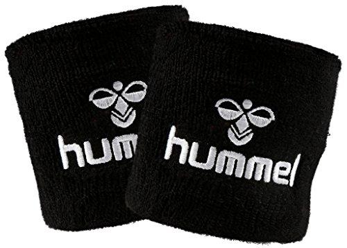 hummel Old School Small Wristband 2er Set in vielen Farben für Handball und weitere Sportarten (Black/White (2114), Small)