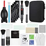 Zacro DSLR or SLR Professional Camera Cleaning Kit ,17-in-1 Camera Cleaning Accessories(with Storage Box), Rocket Air Blower/Lens Cleaning Pen/Cleaning Cloth/Lens Brush and 20ml Lens Cleaner