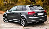 A3 Sportback 8PA Spoiler RS3 Look