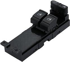 KKmoon Interruptor de Control de Ventana, Electrónico Panel Principal Elevalunas Interruptor de Botón para VW Golf MK4 2 Door 99-07