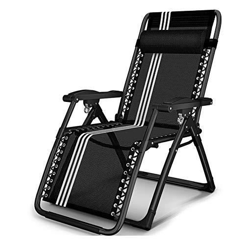 Liegestuhl, neigbar, Lounge-Chair faltbar, Stahlrohr mit Kopfstütze, verstellbare und gebogene Armlehne, gute Qualität