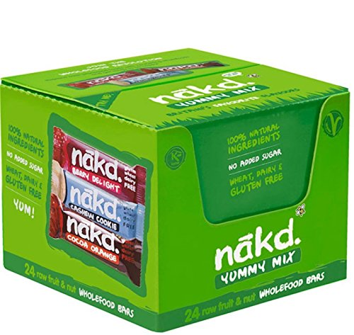 Nakd Multipack Cases of 24 Bars (Yummy Mix)