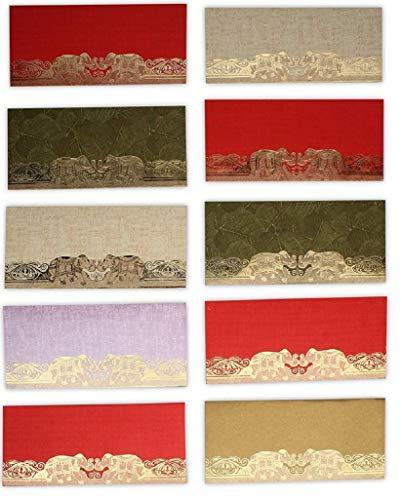 DEVIKA Premium Shagun Gift Envelop voor contant geld (10+2Free 12nos)7.5