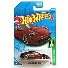 DieCast Hotwheels Porsche Taycan Turbo S - HW Green Speed 4/5 [Maroon] 208/250