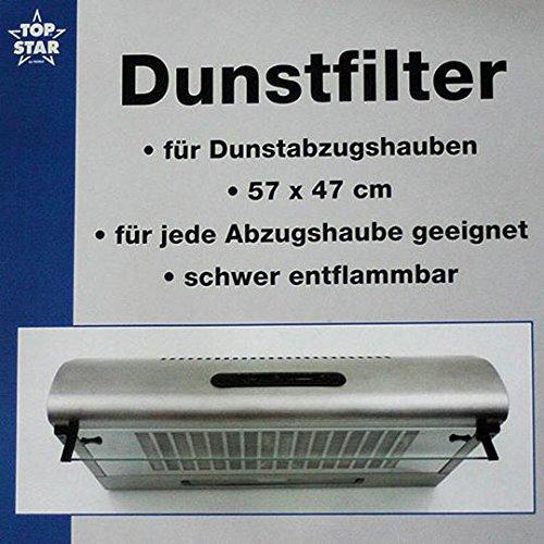 Afzuigfilter voor afzuigkappen 57 x 47 cm afzuigkap afzuigkap filter vervangingsfilter