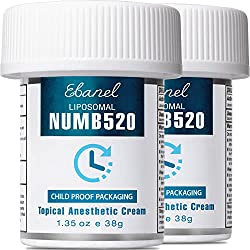 Image of Ebanel 2-Pack 5% Lidocaine...: Bestviewsreviews