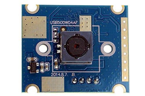 ELP 5MP 60Grado de Enfoque automático cámara USB con Sensor Ov5640para Linux/Android/Mac/Windows PC Webcam