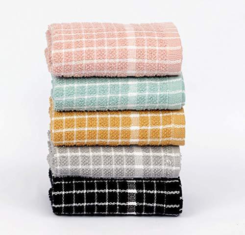 BAVIN Paños de cocina de rizo de algodón egipcio 100% muy suaves y absorbentes, toalla de cocina para limpiar platos – 60 x 45 cm, color blanco, 8 unidades