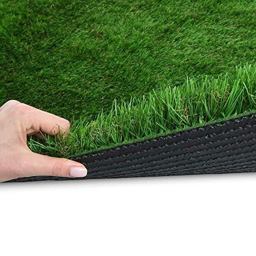 Premium Kunstrasen | Rasenteppich | Rollrasen | Kunststoffrasen | Garten-Rasen | Rasen für Balkon, Terrasse & Garten | viele Modelle | verschiedene Größen & Stärken (Lemon (Höhe: 50mm), 200x100 cm)