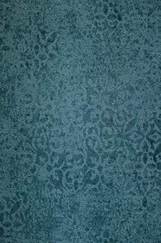 Krakelee Struktur Vliestapete petrol blau Ornamente Craquelé Toscana 642-05
