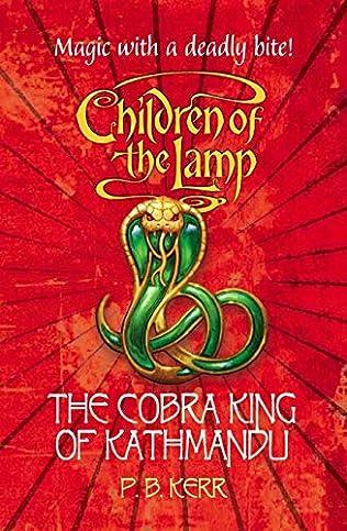 book cover of The Cobra King of Kathmandu