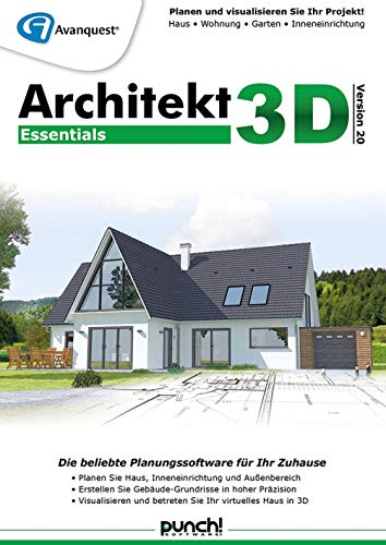 Architekt 3D 20 Essentials | Essentials | PC | PC Aktivierungscode per Email
