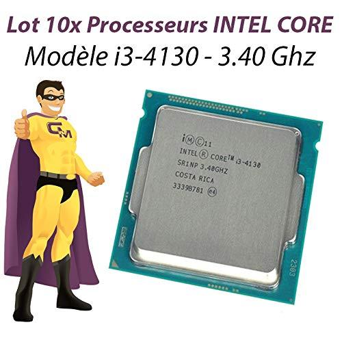 Intel Lot x10procesador CPU Core I3–41303.4GHz sr1np 3Mo Socket 1150