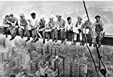 MFZJ Empire State Building Construction Workers Poster