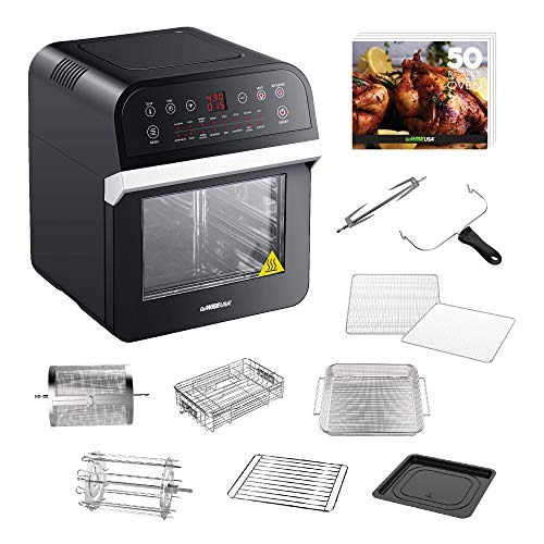 GoWISE USA Deluxe 12.7-Quarts 15-in-1 Electric Air Fryer Oven w/Rotisserie Now $89.99