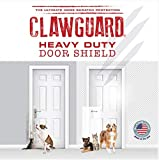 Heavy Duty CLAWGUARD - The Ultimate Door Scratch Shield, Frame & Wall Scratch Protection Barrier for Dog and Cat Clawing, Scratching and Damaging Doors, Scratch Shield 20in x 44in