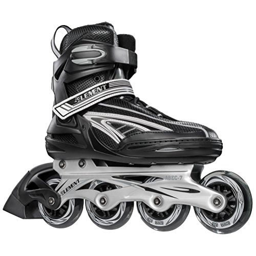 5th Element Panther XT Mens Recreational Inline Skates - 8.0/Black-Gray