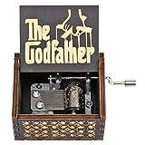 FGHFG el gadfather caja de música sagrado conjunto musical caja tema hecho a mano clásico retro el mejor regalo para los niños A