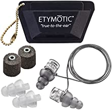 Etymotic Research ER20XS High-Fidelity Earplugs (Concerts, Musicians, Airplanes, Motorcycles, Sensitivity and Universal He...