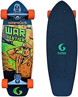 Glutier Surfskate with T12 Surf Skate Trucks. War ...