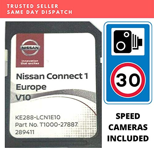 Nissan Connect 1 (V10) 2020 - Tarjeta SD para navegación por satélite